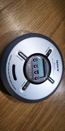 Leitor CD mp3 portátil a funcionar bem