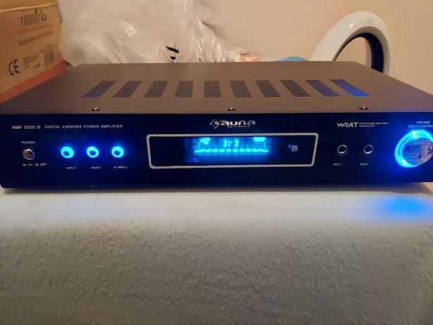 Wzmacniacz Hi-Fi AUNA AMP-9200 surround 5.1 czarny Design 600W