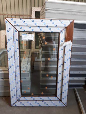 okno pcv 50x120 złoty dąb, nowe, tania wysyłka !