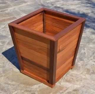 Деревянное кашпо Деревянный горшок для туй Ящик для голубики