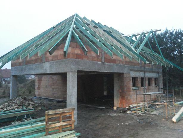 Budowa domów, fundamenty, ściany, stropy itp wszystkie prace budowlane