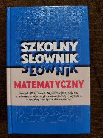 Szkolny słownik matematyczny