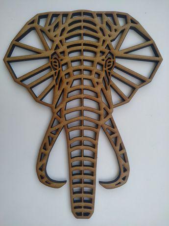 Elefante decorativo MDF 6mm