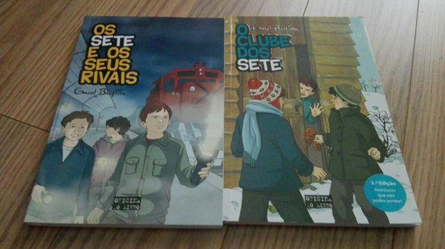 """Livros de """"Os Sete"""""""
