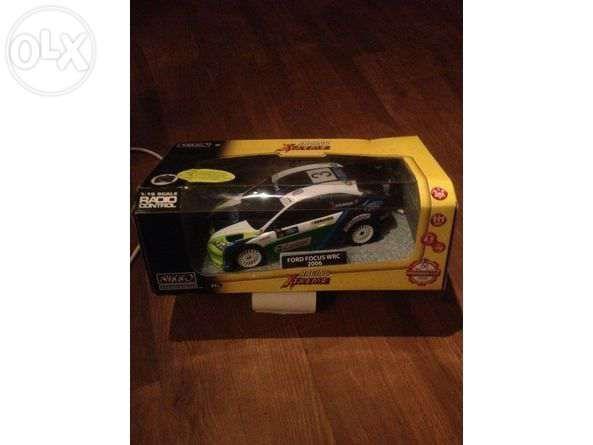 Ford focus wrc 2006 - nikko na caixa novo!
