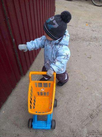 продам шапку зимнюю на ребенка 1,5-2 года David's Star