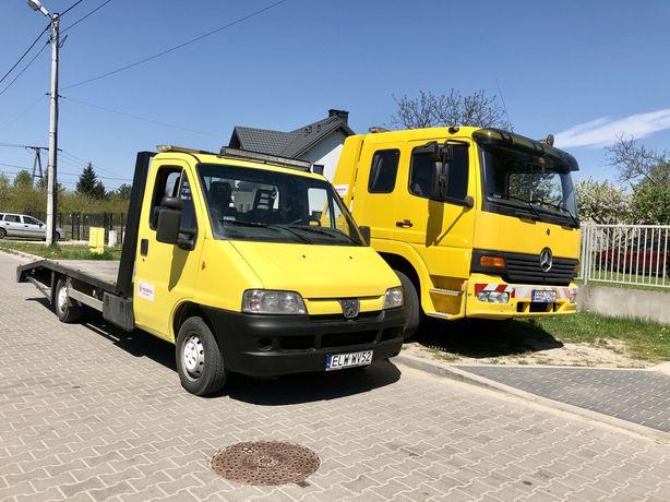 Pomoc drogowa / transport / skup aut / złomowanie / autolaweta laweta