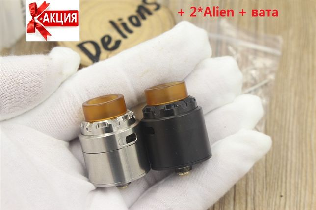 Дрипка Reload X RDA 24мм squonk pіn Clone + намотка в подарок