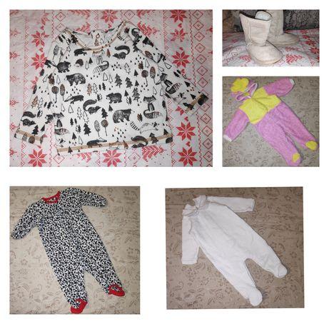 Продам вещи на девочку 0-6 месяцев в отличном состоянии
