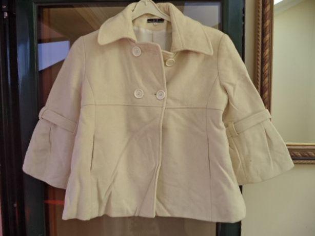 casaco em fazenda 80% lâ tamanho 44 baixa de preço