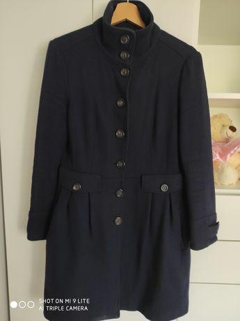 Płaszcz wełniany Mango rozmiar M
