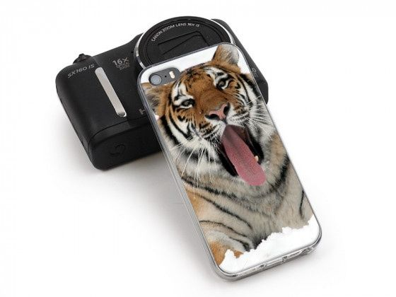 Etui na telefon zte blade a452 z tygrysem