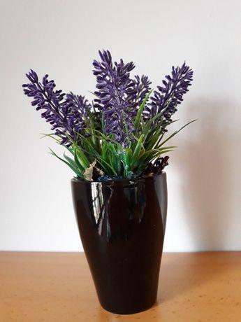 Vaso com Alfazema artificial