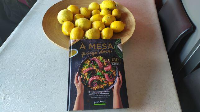 Livro novo de receitas á mesa pingo doce