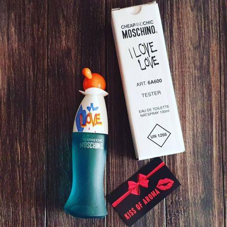 Moschino I Love Love -  Москино лав лав 100 ml для женщин