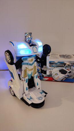Nowy!! Samochód policyjny Transformers
