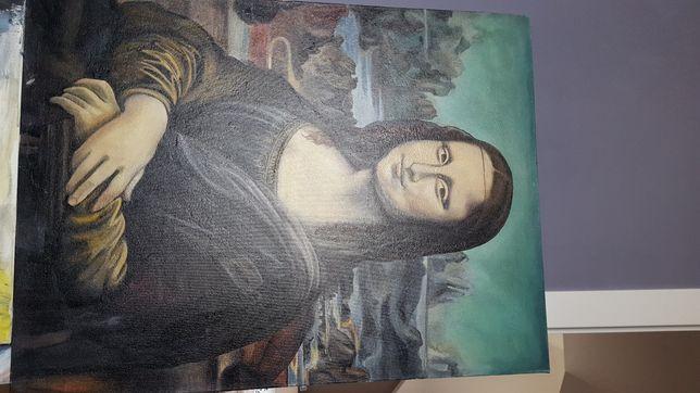 mona lisa reprodukcja ręcznie malowany obraz