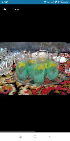 Набор 10 стаканов