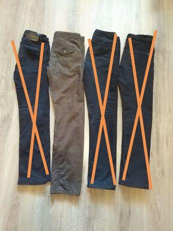 Вельветовые коричневые джинсы на мальчика