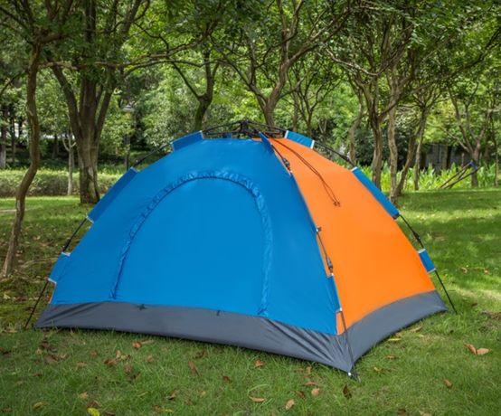 Палатка автоматическая 4-х местная Комуфляж , Зелёная, Синяя автомат