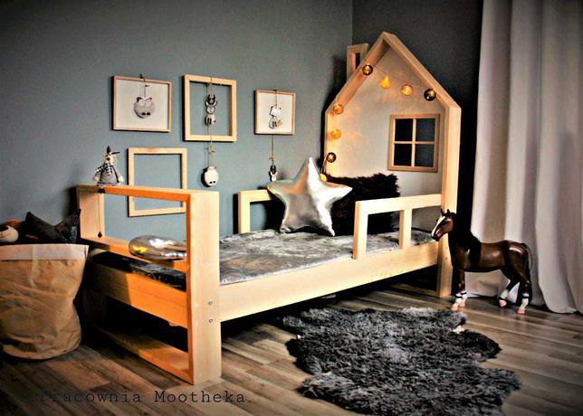Łóżko drewniane dziecięce Nature House