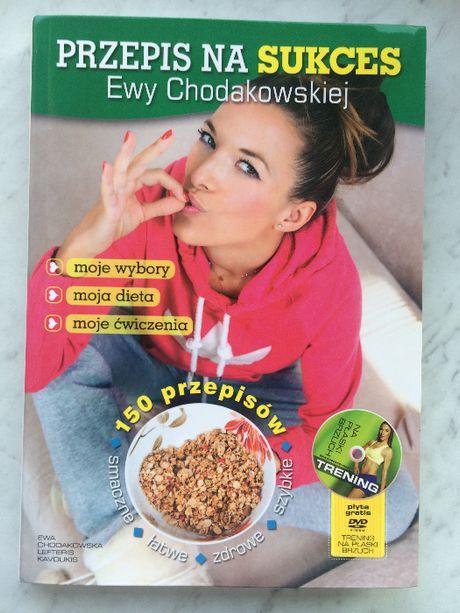 Przepis na sukces Ewa Chodakowska książka + DVD