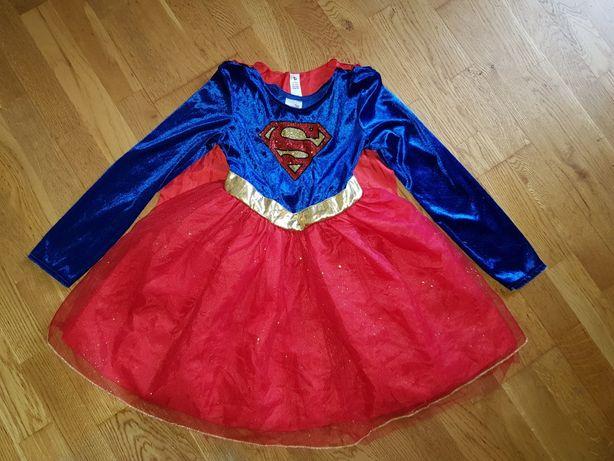 Карнавальный костюм/супервумен/Superwoman/9-10 лет