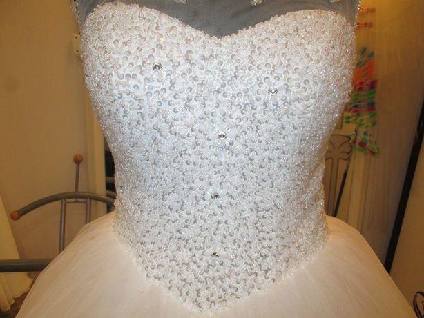 Suknia ślubna princessa (Relevance Bridal Orinoko) - r. 36
