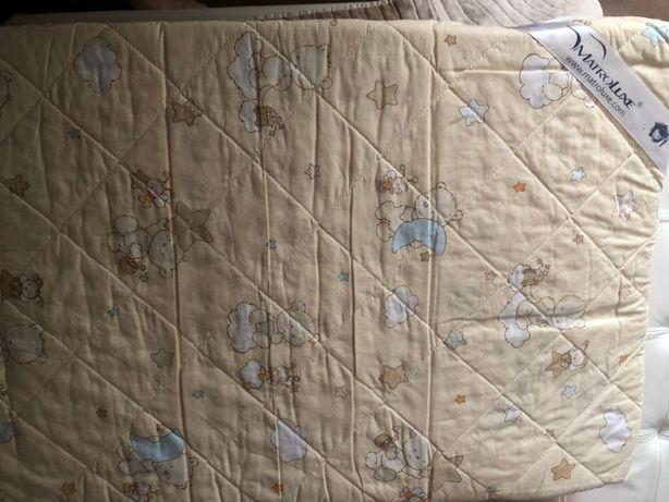 Продам детский мартас 60Х120 БУ+2 наматрасника на резинке+подарок