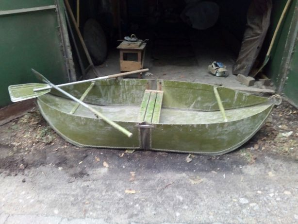 Дюралевая раскладная лодка