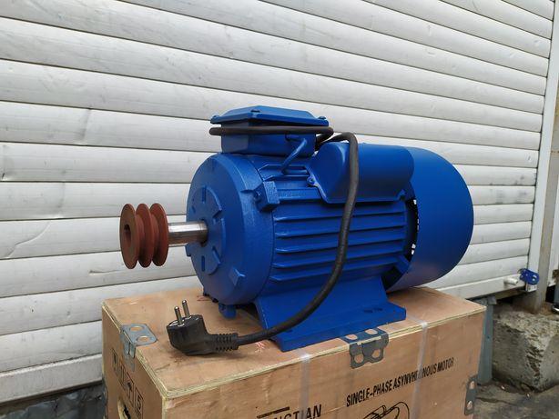 Электродвигатель 4.8квт/3000об електродвигун мотор двигатель 220 вольт