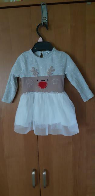 Sukieneczka świąteczna