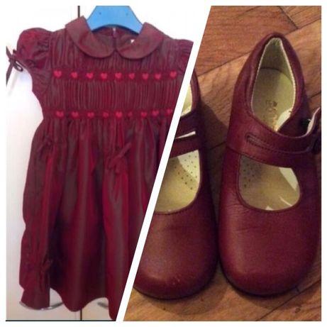 Vestido PETIT PATAPON + sapatinhos