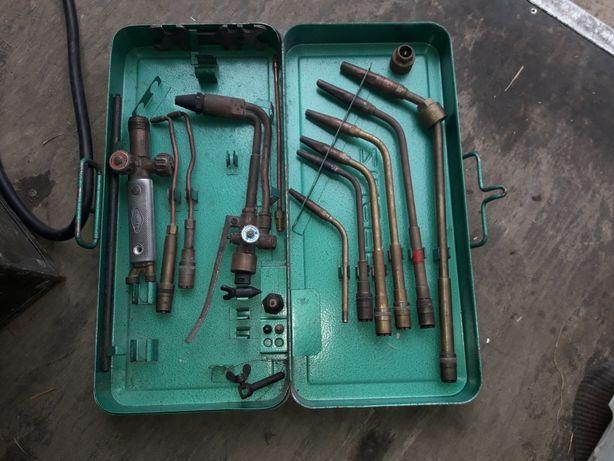 Zestaw palników acetylenowo-tlenowych+przewody