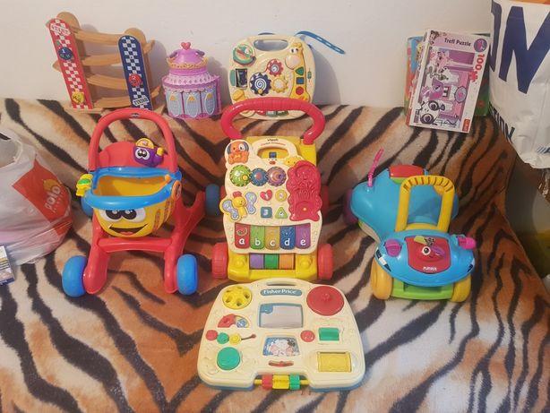 zabawki jezdziki leżaczki maty zabawki edukacyjne