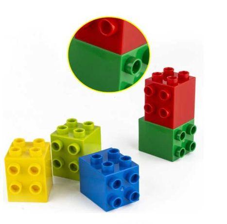 NEW! Кубики подвійні 2х2 сумісні з Лего Дупло