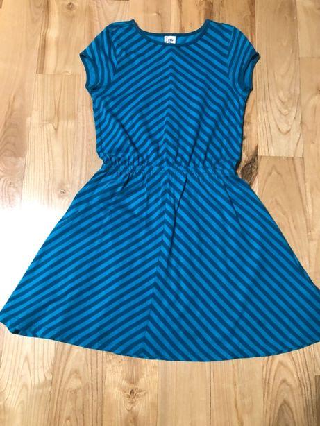 Bawełniana sukienka w rozmiarze 134