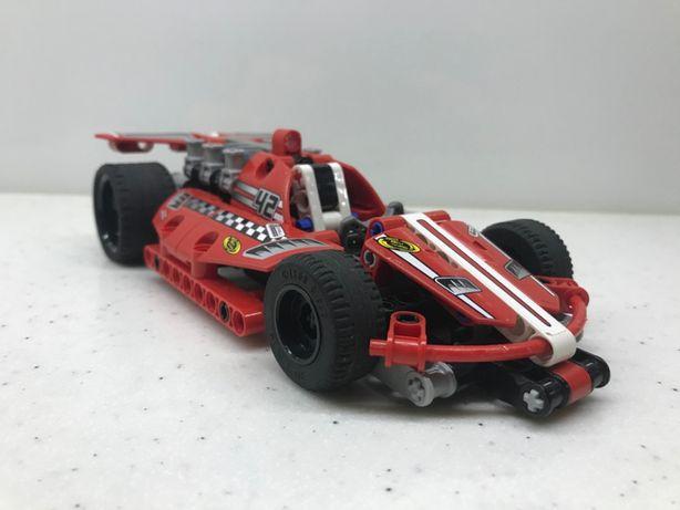 Lego Technic Pull Back 42011 Czerwona wyścigówka