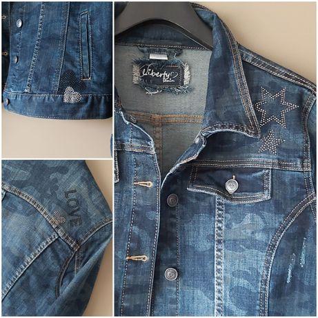Kurtka jeansowa XL Liberty damska
