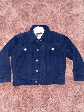 Курточка вельветовая для малыша
