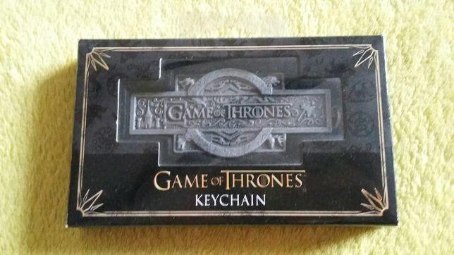 NOBLE COLLECTION: Gra o tron - brelok - Game of Thrones - keychain
