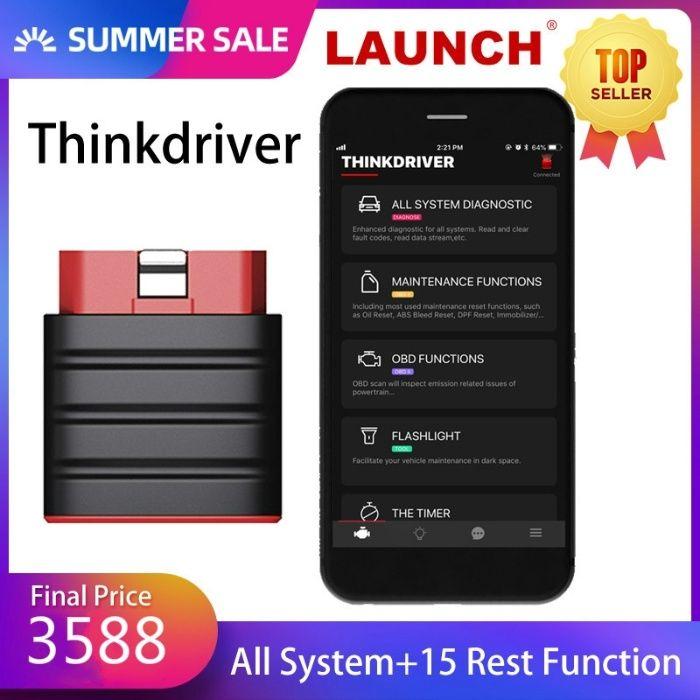 Máq. Diagnostico Auto Thinkdiag Mini Bluetooth , Novo c/ Garantia