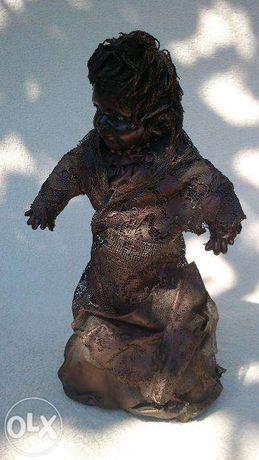 ZOBACZ! Wstrętna Lalka Hand Made Okazja Horror