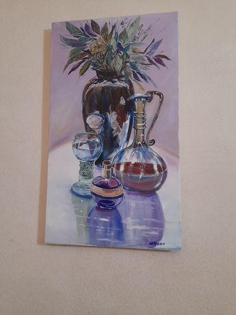 Картина масляными красками от автора