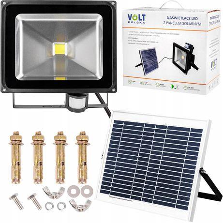 Lampa solarna panel naświetlacz led halogen 50W (SOL54)