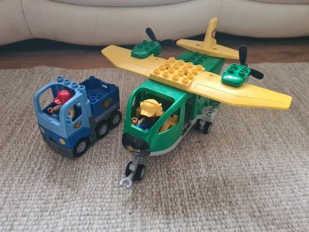 Lego duplo duży samolot transportowy 5594