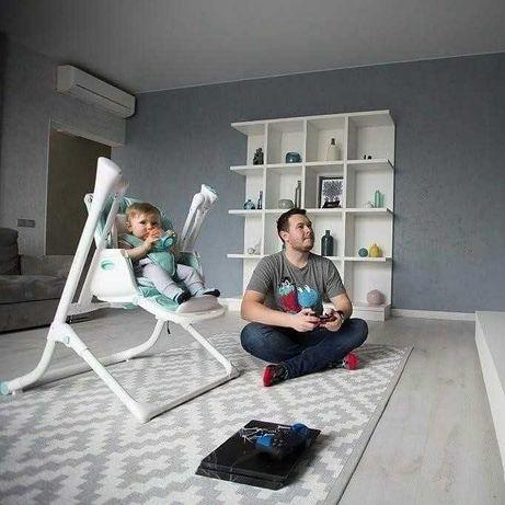 Детский стульчик для кормления, качель, шезлонг Carrello Triumph 3 в 1