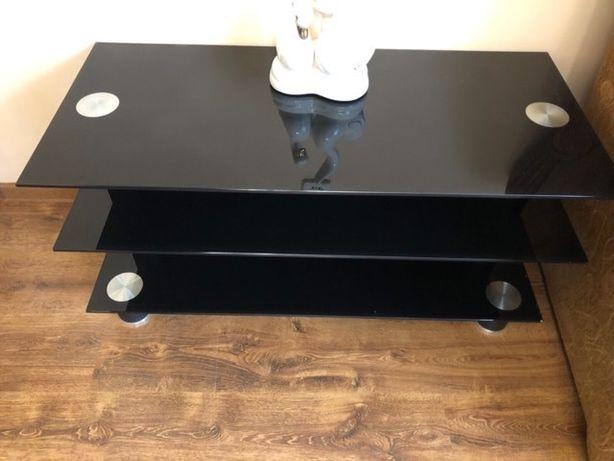 Скляний стіл під телевізор, стеклянный стол, скляна тумба