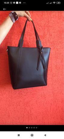 Кожаная женская сумка Италия
