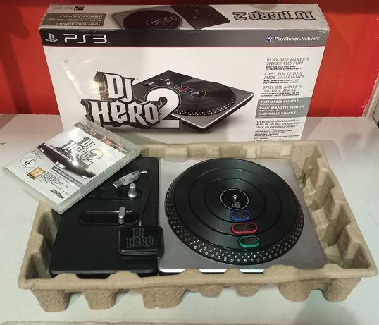 Dj Hero 2 na PS3 komplet z grą.